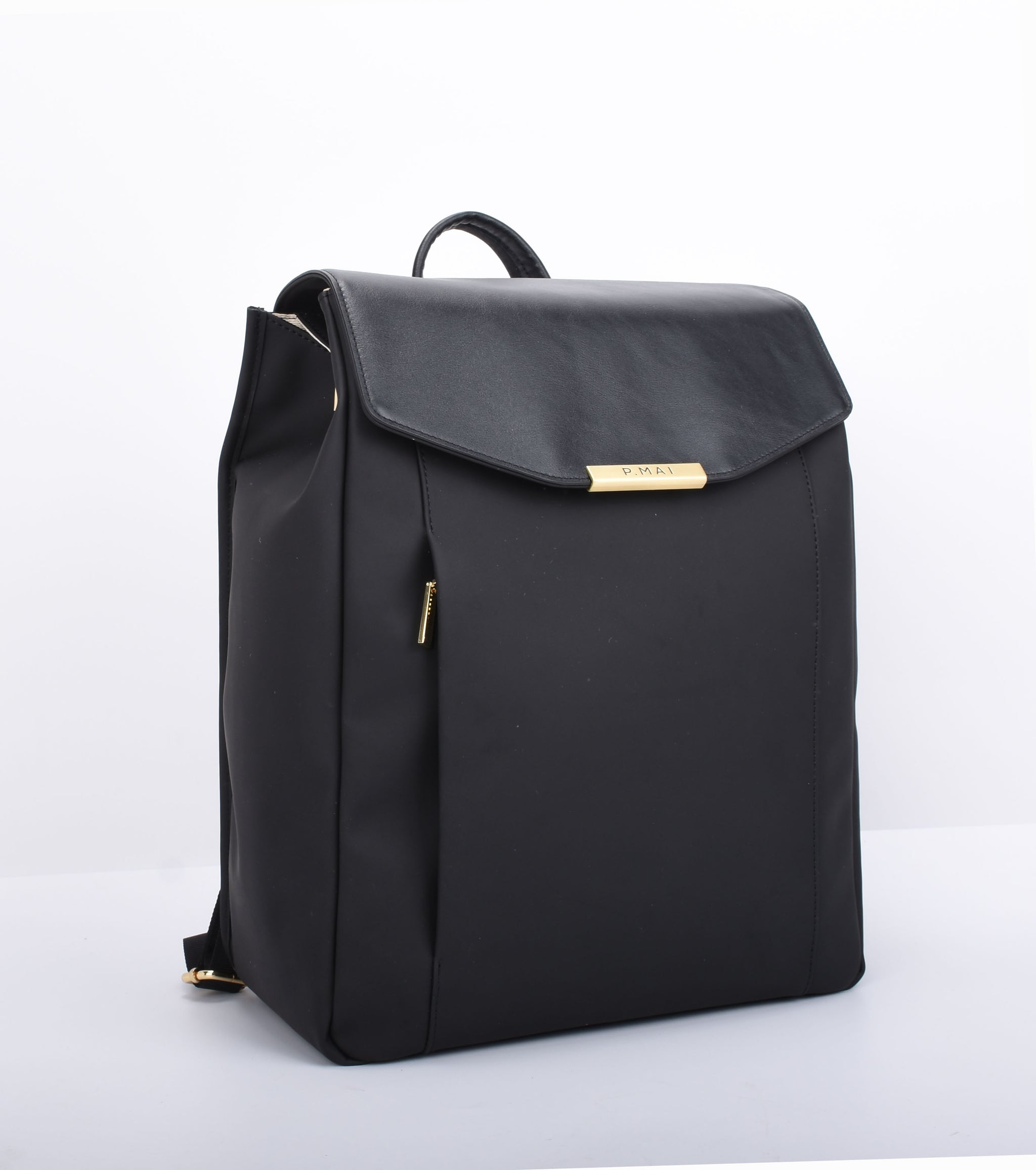 P.MAI best professional vegan leather laptop backpack for women, 15-inch executive laptop and notebook computer designer luxury backpack ideal for work, school, travel and commuter | Astrid P.MAI
