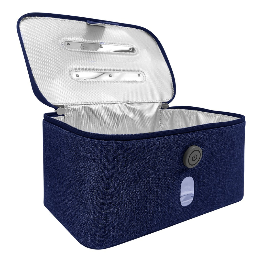 Violet Clean Kit (UV-C Sanitizer Bag) - Navy