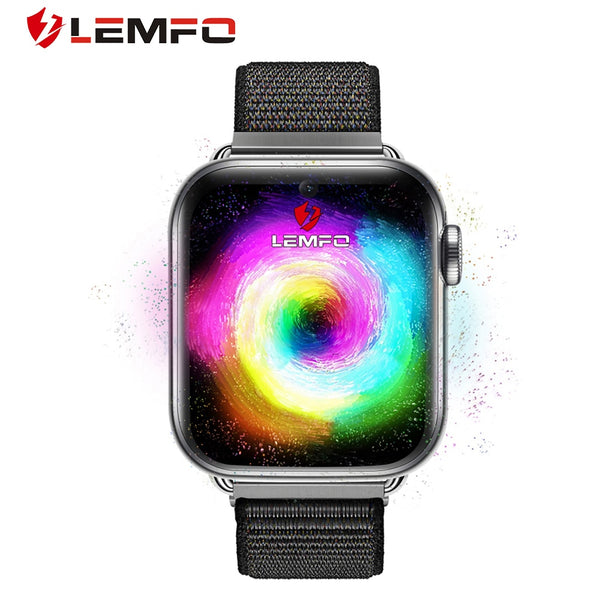 LEMFO LEM10 4G Smart Watch Men Phone Android 7.1 3GB+32GB Support GPS / WiFi / SIM Card / Heart Rate Monitor Camera Smartwatch