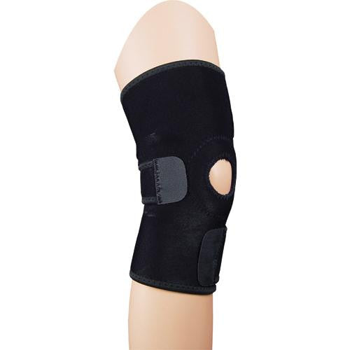 Knee Wrap Black Universal Open Patella - eileenshoppingdeals
