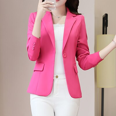 New Plus Size 4XL Women Coats Blazer Jackets Spring Summer - eileenshoppingdeals