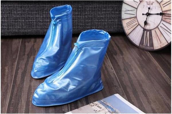 Reusable Waterproof Overshoes Shoe Covers Shoes Protector Men&Women'sn Rain Cover for Shoes Accessories Small yards Supersize - eileenshoppingdeals