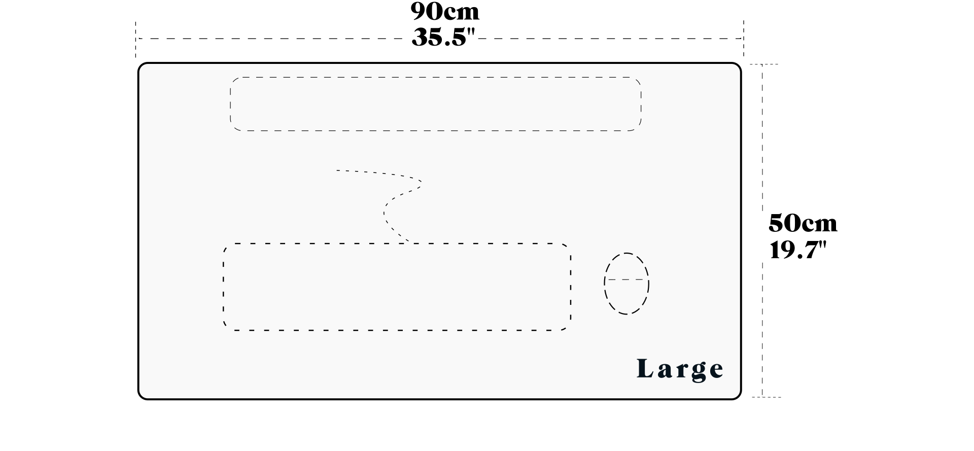 Large Desk Pad Size Guide