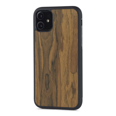 iPhone 11 Pro Max — #WoodBack Explorer Black Case