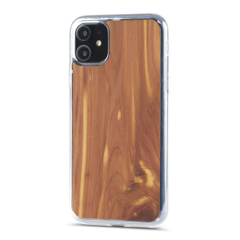 iPhone 11 —  #WoodBack Explorer Clear Case