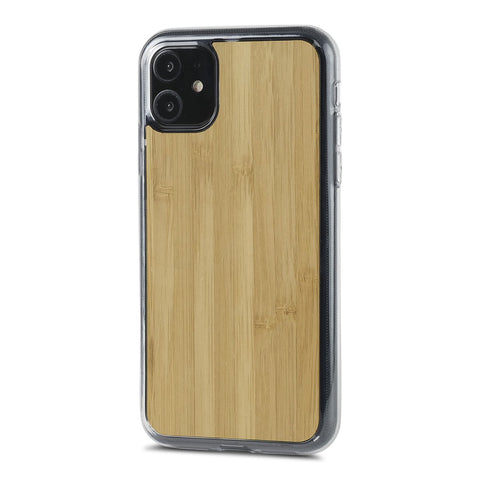 iPhone 11 Pro —  #WoodBack Explorer Clear Case