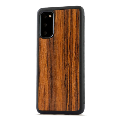 Samsung Galaxy S20 — #WoodBack Explorer Case