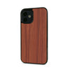 iPhone 12 Mini —  #WoodBack Explorer Black Case
