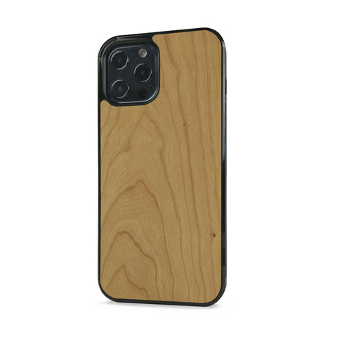 iPhone 12 Pro —  #WoodBack Explorer Black Case