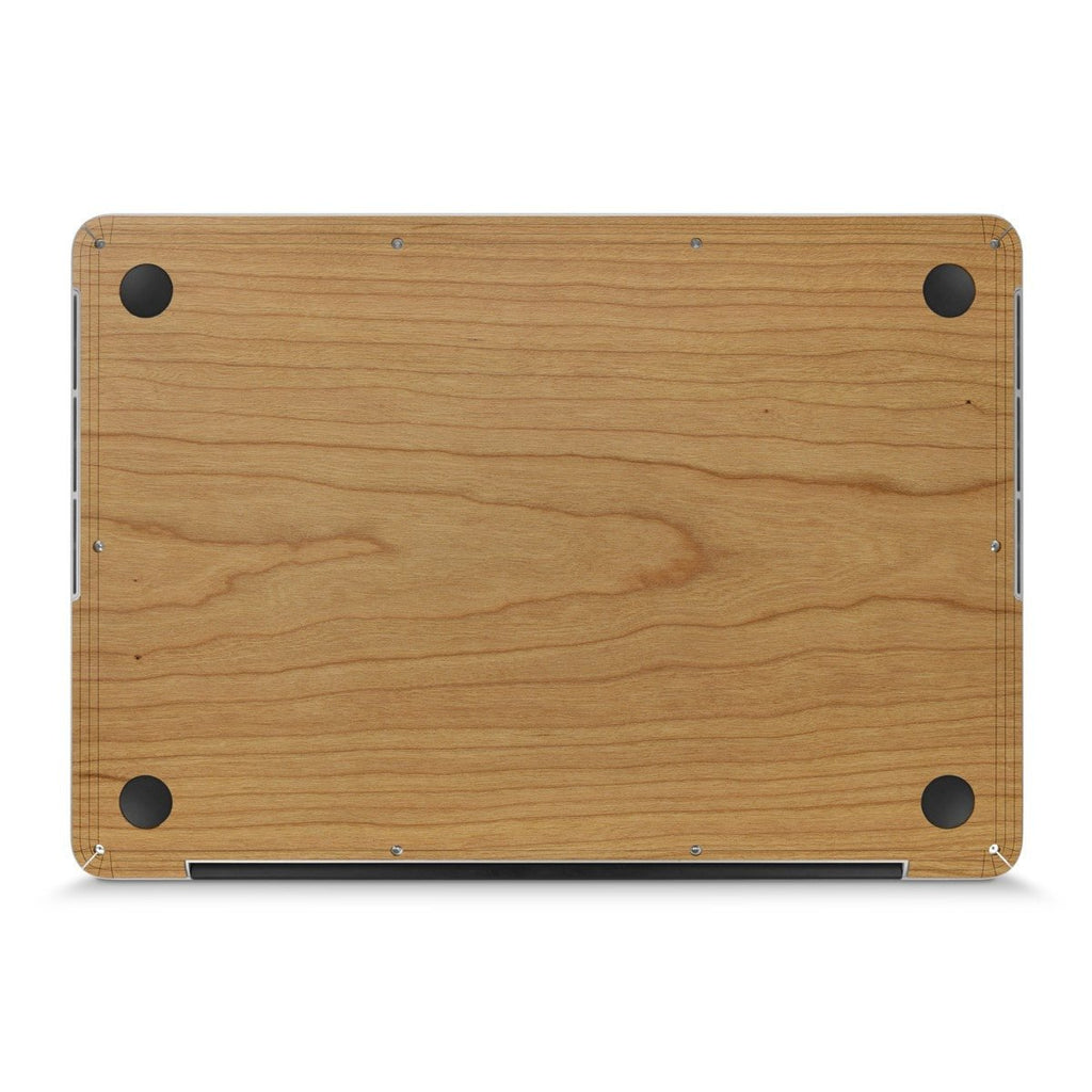 "MacBook Air 13"" Retina —  #WoodBack Bottom Skin - Cover-Up"