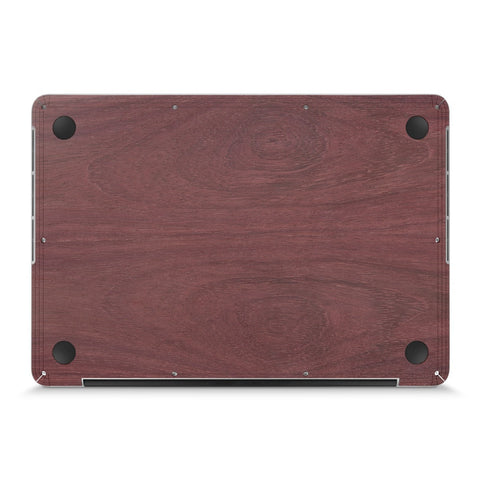 "MacBook Pro 15"" Retina —  #WoodBack Bottom Skin - Cover-Up"