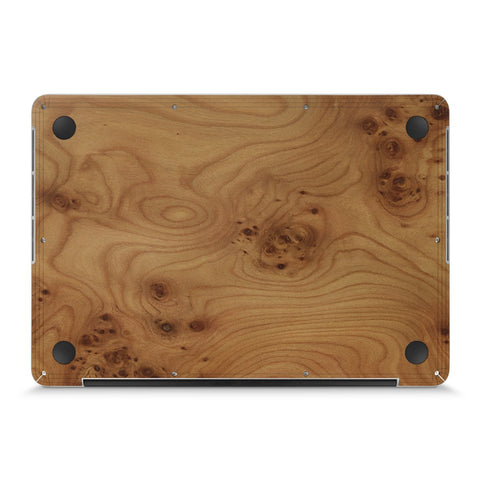 "MacBook Pro 13"" —  #WoodBack Bottom Skin - Cover-Up"