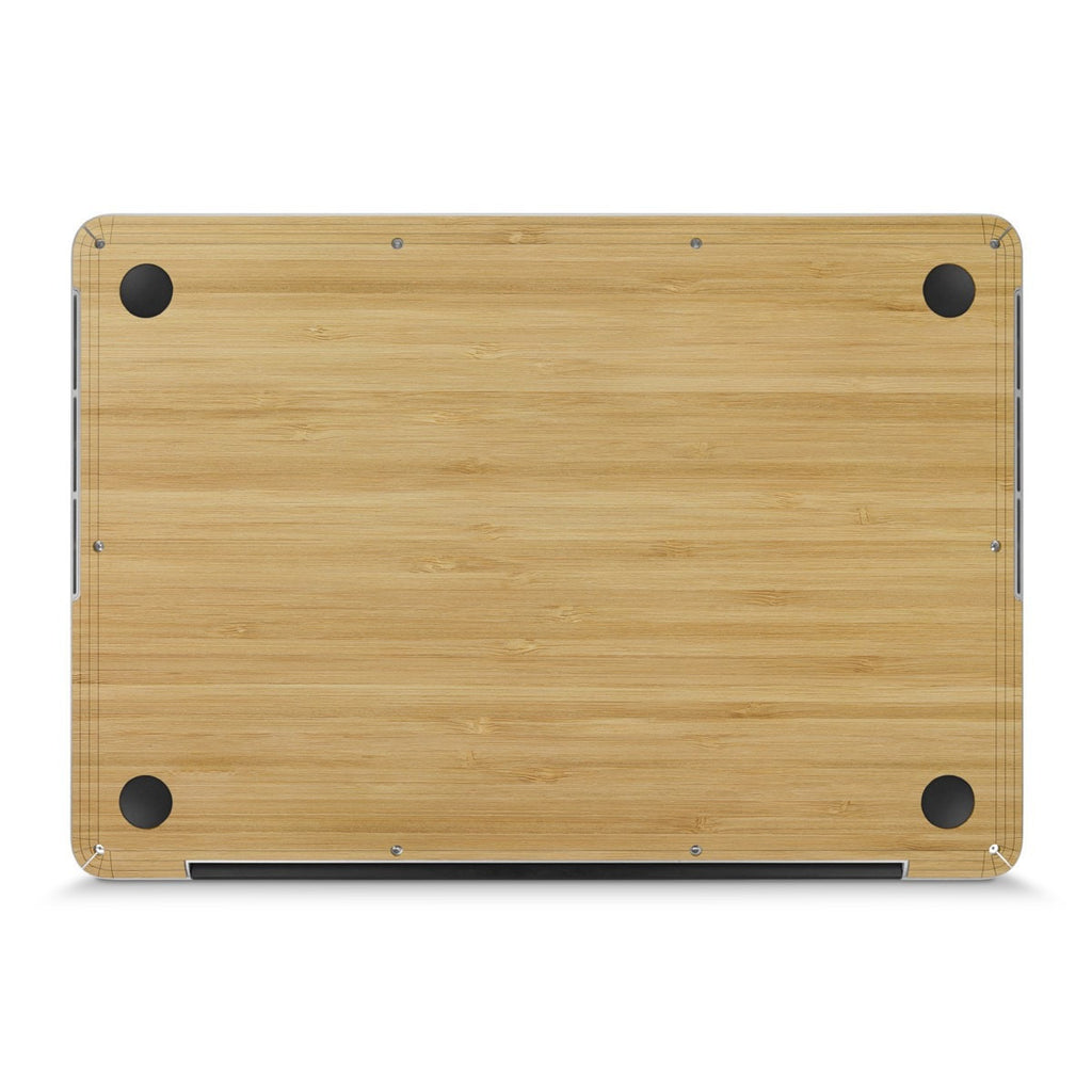 "MacBook Pro 15"" (2016) —  #WoodBack Bottom Skin - Cover-Up"
