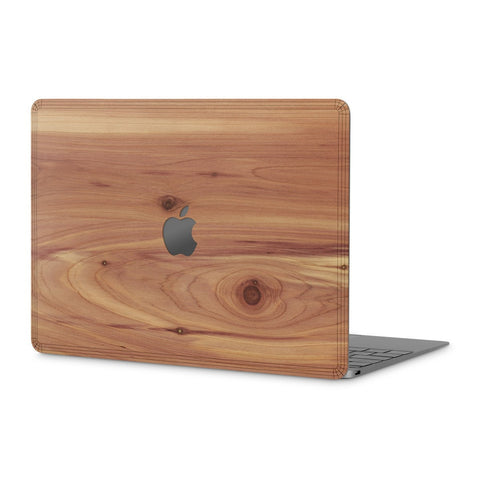 "MacBook 12"" — #WoodBack Skin - Cover-Up - 1"