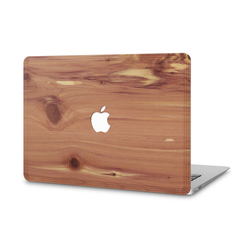 "MacBook Pro 15"" Retina — #WoodBack Skin - Cover-Up - 1"