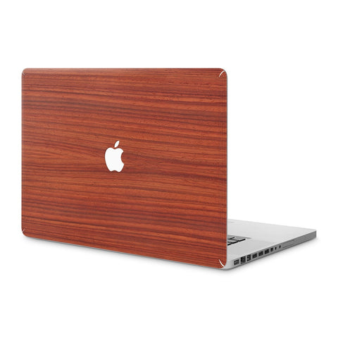 "MacBook Pro 17"" — #WoodBack Skin - Cover-Up - 1"