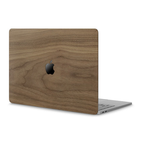 "MacBook Pro 13"" (2016-2020) —  #WoodBack Skin - Cover-Up - 1"
