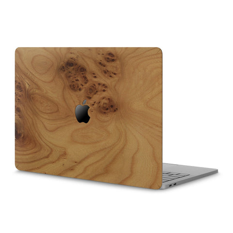 "MacBook Pro 15"" (2016) —  #WoodBack Skin - Cover-Up - 1"