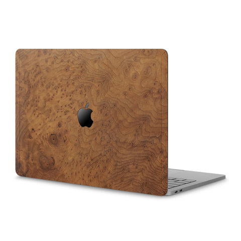 "MacBook Pro 15"" (2016 / 2017) Touch Bar — #WoodBack Skin"