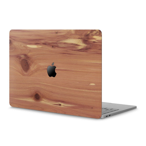 "MacBook Air 13"" (M1, 2020) — #WoodBack Skin - Cover-Up - 1"