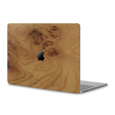 "MacBook Pro 13"" (2016-2019) —  #WoodBack Skin - Cover-Up - 1"