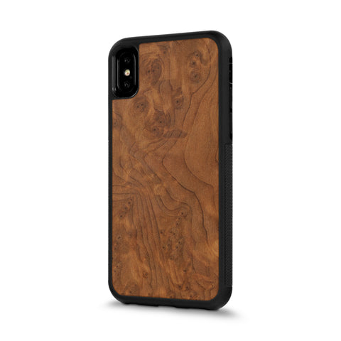 iPhone X — #WoodBack Explorer Case