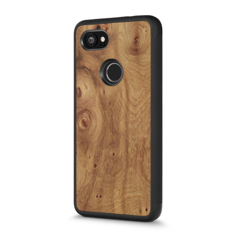 Google Pixel 2 XL —  #WoodBack Explorer Case