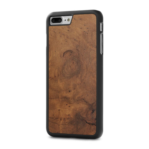 iPhone 8 Plus — #WoodBack Snap Case