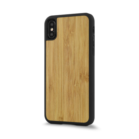 iPhone XR —  #WoodBack Snap Case