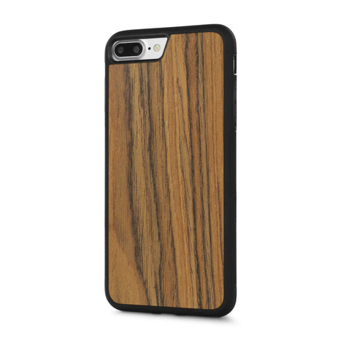 iPhone 8 Plus — #WoodBack Explorer Case