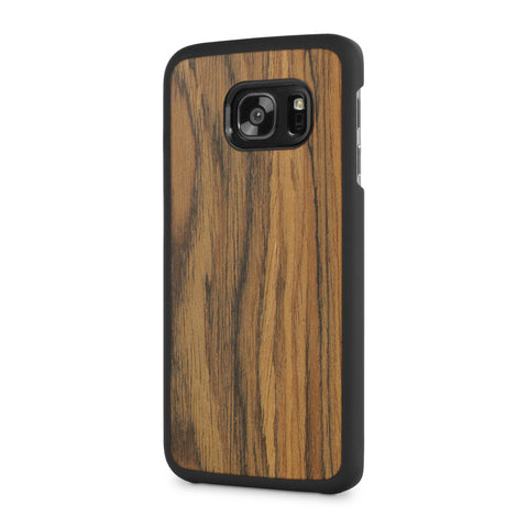 Samsung Galaxy S7 Edge — #WoodBack Snap Case