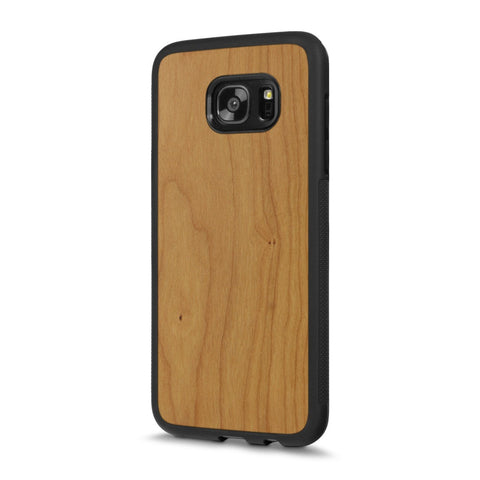 Samsung Galaxy S7 Edge — #WoodBack Explorer Case - Cover-Up - 1