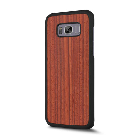Samsung Galaxy S8 Plus — #WoodBack Snap Case