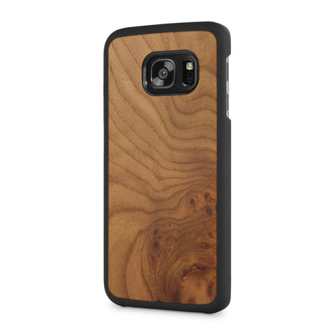 Samsung Galaxy S7 Edge — #WoodBack Snap Case - Cover-Up - 1