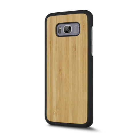 Samsung Galaxy S8 — #WoodBack Snap Case