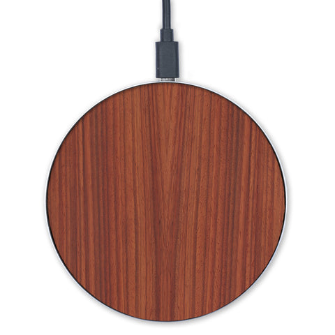 —  #WoodBack Wireless Charger