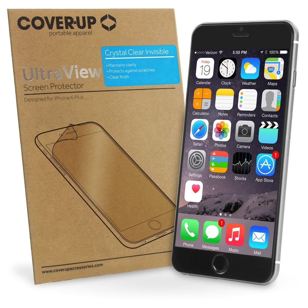 iPhone 6 Plus — Screen Protector - Cover-Up