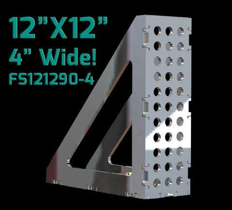 "12""X12"" - 4""WIDE  90 Degree FabSquare U-Weld Kit-FS121290-4"