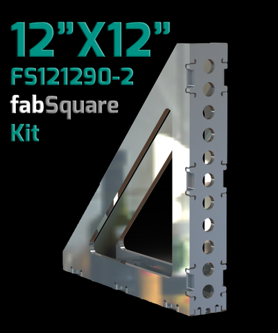 "12""X12""X2""w  90 Degree FabSquare U-Weld Kit-FS121290-2"