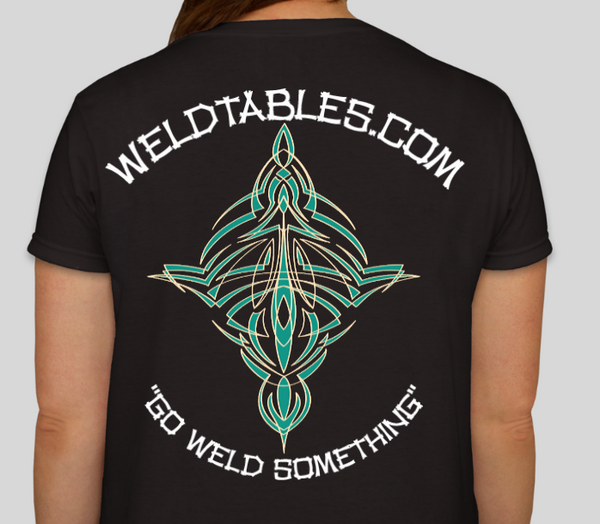 CertiFlat HD T-Shirts-Official WeldTables.com Tee's