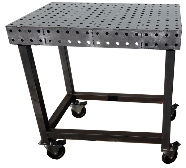 "Mini-Block 24""x36"" 3/16"" Thick FabBlock FB2436-.188 Weld Table by CertiFlat"