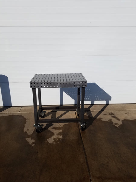 "Mini-Block 24""x36"" 3/16"" Thick FabBlock FB2436-.188 Weld Table by CertiFlat - FabBlock ONLY"