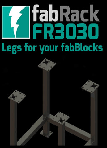 "Certiflat 30""X30"" FabRack for FabBlock"