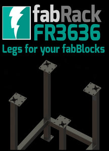 "Certiflat 36""X36"" FabRack for FabBlock"