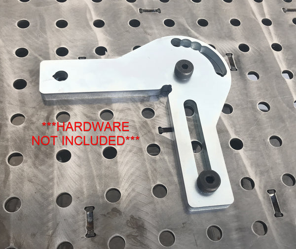 "ACC-100-2 Adjustable 6"" fabStop Square 90 Degree Stop"