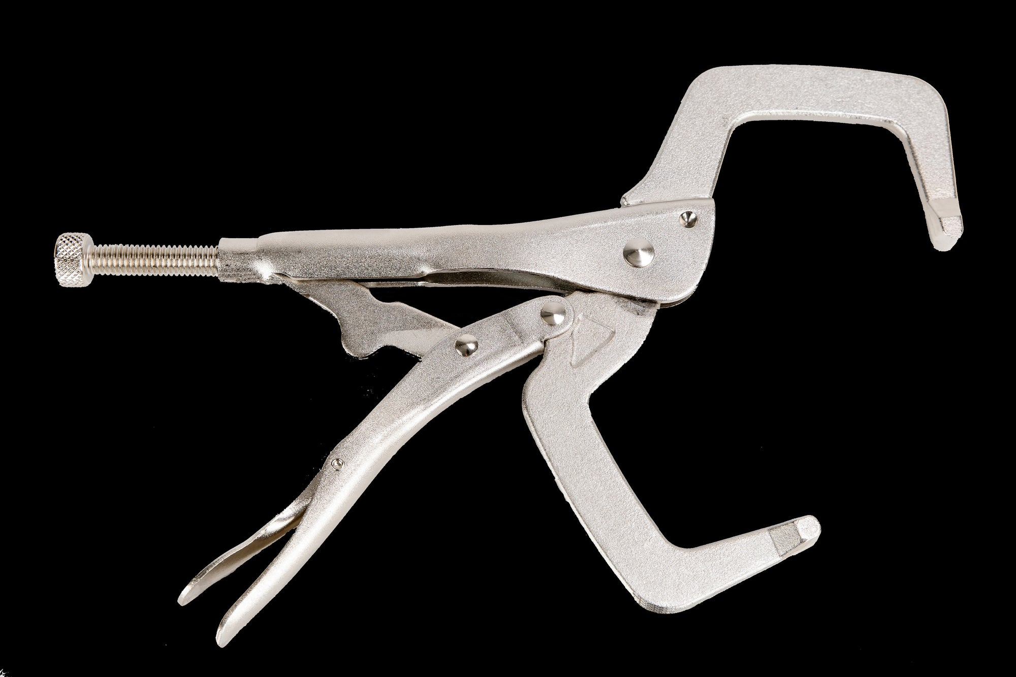 "Clamps - 11"" C-Clamps Locking Pliers Nickel Plated - Rock River"