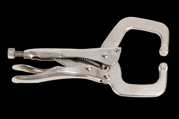 "Clamps - 6"" Nickel Plated C-Clamp Locking Pliers - Rock River"