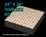 FabBlock Kit - CertiFlat FB2424 FabBlock U-Weld Kit Welding Table