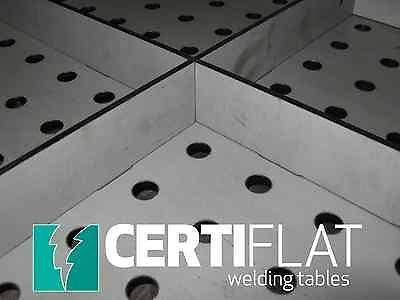 Pro Table Kit - 3'X4' Large Heavy Duty Welding Table Top Kit-CertiFlat By Tab & Slot U-Weld