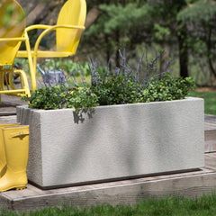 Milan Tall Trough Planter